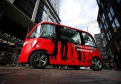 Self drive car in japan