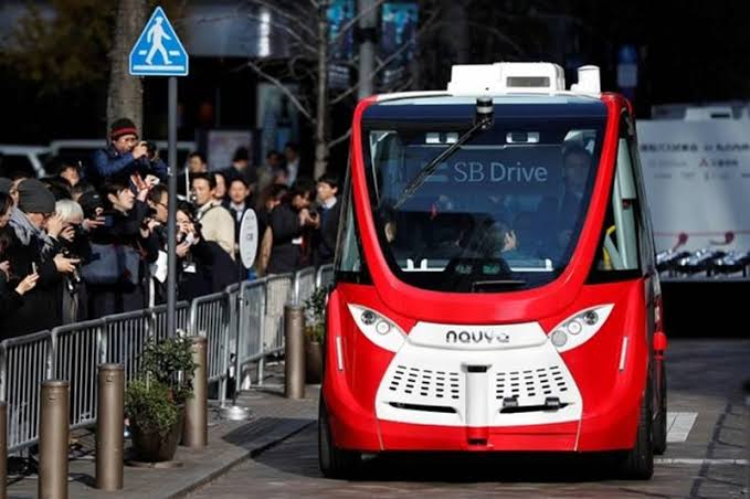 self-driving car in Japan