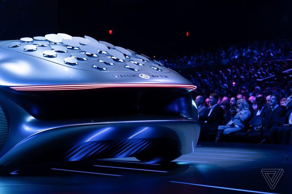 Mercedes Vision Avatar