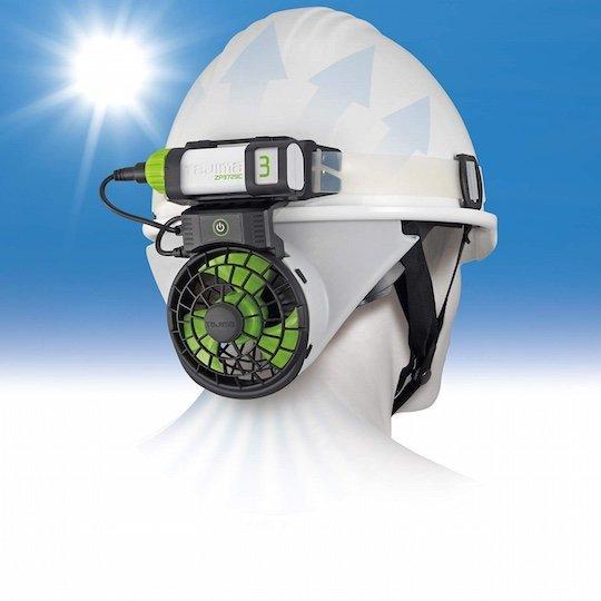 Helmet Fan