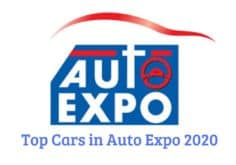 Top Cars in Auto Expo 2020