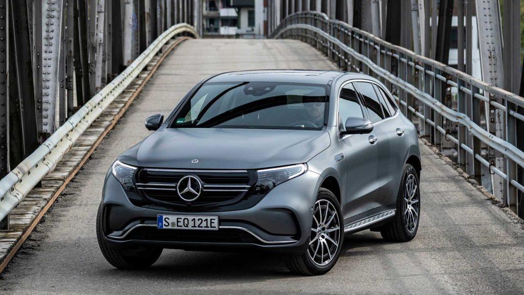 Mercedes Benz EQC technobloga