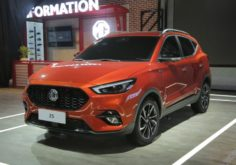 MG Zs in Auto Expo 2020
