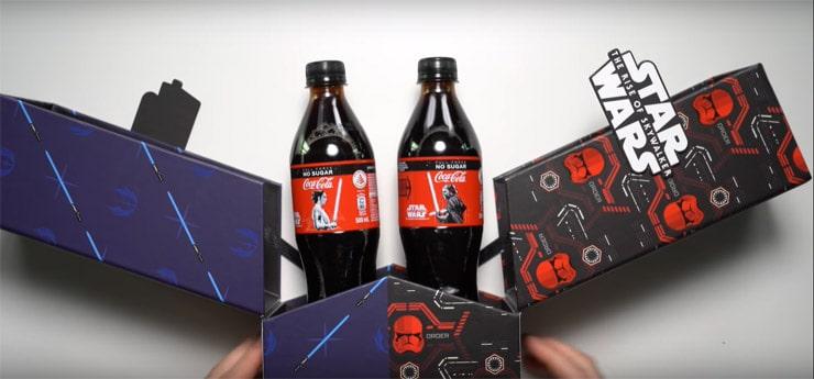 World's first Electronic Coke Bottle