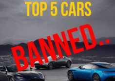 Top 5 Banned Cars