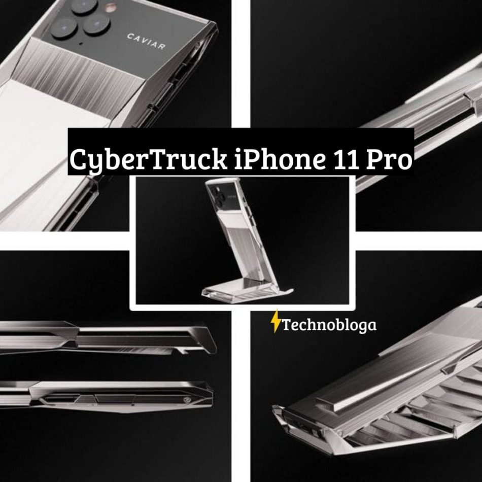 Cybertruck iPhone 11 Pro