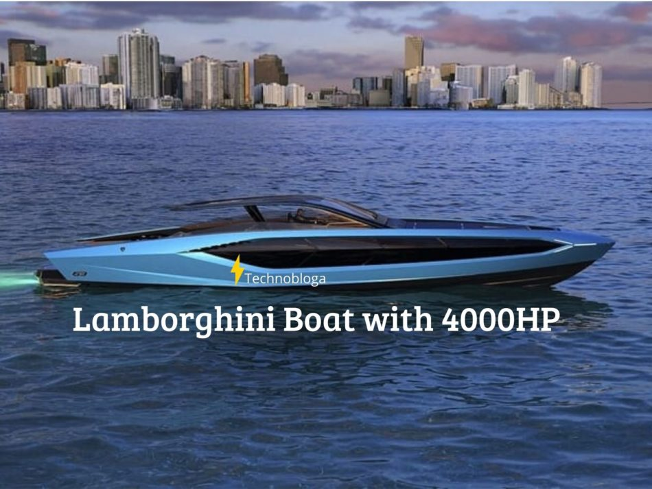 Lamborghini Boat with 4000HP